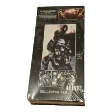 Factory Sealed 36 Pack Unopened Box 2001 KISS Alive! Collector Trading Cards