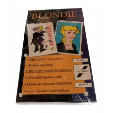 Factory Sealed Box 1995 Authentix Blondie Comic Strip Trading Cards