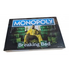 New Sealed USAopoly Breaking Bad Let's Cook Monopoly Board Game Age 17 to Adult