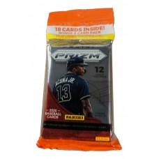 Factory Sealed 18 Card Cello Pack 2020 Panini Prizm Baseball Cards