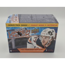 Factory Sealed 7 Pack Blaster Box 2020-2021 Upper Deck Series 1 Hockey Cards