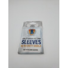 Pack of 100 Beckett Shield 130pt Thick Baseball Trading Card Soft Poly Sleeves