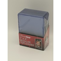 Pack of 25 Ultra Pro 3x4 Clear Hard Plastic Regular Trading Card Topload Holders