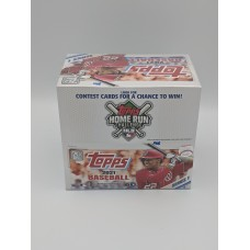 Factory Sealed 24 Pack Retail Box 2021 Topps Series 1 Baseball Cards