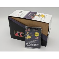 Box of 25 Pro-Mold MH75S Magnetic 75 Point Trading Card in Soft Penny Sleeve Holder