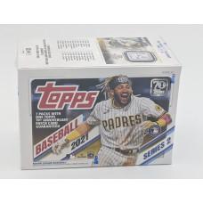 Factory Sealed 7 Pack Blaster Box 2021 Topps Series 2 Baseball Cards