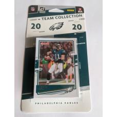 Factory Sealed 2020 Panini Donruss Philadelphia Eagles Football Cards Team Set