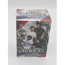 Factory Sealed 8 Pack Blaster Box 2021 Topps Major League Soccer Trading Cards