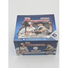 2021 Topps Bowman MLB Baseball Cards Factory Sealed 24 Pack Retail Box