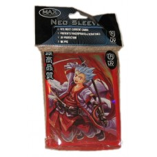 Pack of 50 Max Protection Samurai Kid Standard CCG Neo Sleeves