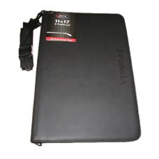 BCW Z-Folio LX Leatherette 11x17 Art Portfolio Album - Black
