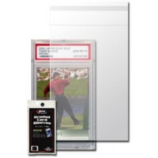 Pack of 100 BCW Resealable Graded Trading Card Poly Sleeves