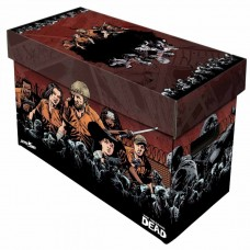 10 BCW Short Cardboard Comic Book Storage Boxes The Walking Dead Compendium box