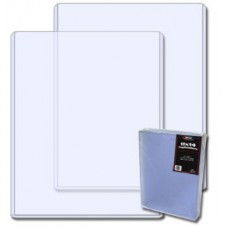 Pack of 25 BCW 11 x 14 - Hard Plastic Topload Photo Holders