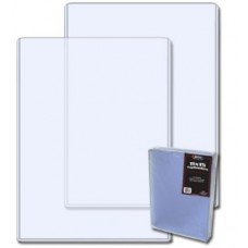 Pack of 20 BCW 11 x 15 - Hard Plastic Topload Photo Holders