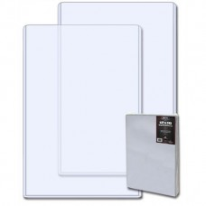 Case of 100 BCW 12x18 Hard Plastic Topload Photo / Print Holders