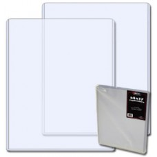 Case of 50 BCW 14 x 17 Photo / Print Rigid Topload Holders
