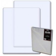 Pack of 10 BCW 16 x 20 Hard Plastic Topload Photo Holders 16x20