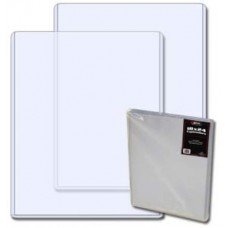 Case of 50 BCW 18 x 24 Hard Plastic Topload Poster Holders 18x24
