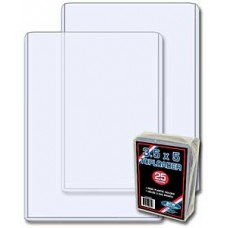 Pack of 25 BCW 3.5 x 5 - Topload Photo / Small Postcard Holders