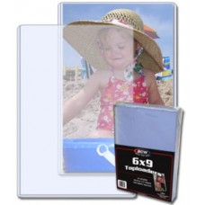 Pack of 25 BCW 6 x 9 - Hard Plastic Topload Photo Holders