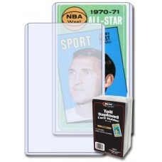 Pack of 25 BCW Gameday / Widevision / Tall Card Topload Holders