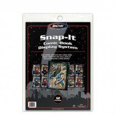 Pack of 12 BCW Snap It Comic Book Wall Display Panels Holders