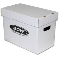 One New BCW Magazine Size Cardboard Storage Box