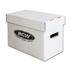One New BCW Short Comic Book Cardboard Storage Box