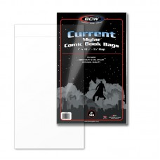 Pack of 50 BCW Current / Modern Comic Book Mylar Bags 2 Mil