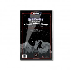 Case of 500 BCW Silver Age Comic Mylar Bags 2 Mil