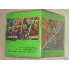 Factory Sealed Box 2013 Panini Teenage Mutant Ninja Turtles Album Stickers TMNT