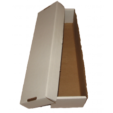 One BCW 800 Count Cardboard Baseball Card Box 2 Piece Design