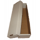 One BCW 800 Count Cardboard Baseball Card Box 2 Piece Design