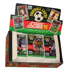 Unopened Pack 1992 Score Italian AIC Football Soccer Trading Cards