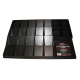 BCW Large Black Plastic Gaming Trading Card Sorting Tray organizer display