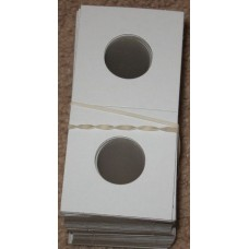 100 Lighthouse 22.5mm Penny 2x2 Paper Coin Flips 2 x 2 holders