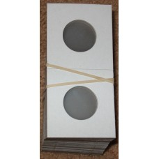 100 Lighthouse 25mm Nickel 2x2 Paper Coin Flips 2 x 2 holders