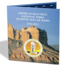 Lighthouse PRESSO Pop-In Cardboard Coin Folder for National Park Quarters