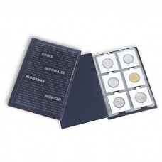 Lighthouse 10 Page Coin Wallet for 60 2x2 Paper Coin Holders