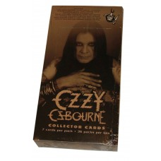 Factory Sealed Unopened 36 Pack Box 2001 Ozzy Osbourne Collector Trading Cards