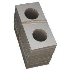 Lot of 100 BCW Cardboard 2 x 2 Coin Flips Sacagawea Dollar Size