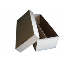 BCW Corrugated Cardboard 2-Row Baseball Trading Card Shoe Box