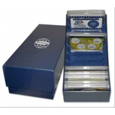 Whitman Blue 2x3 Frosty Case Coin Storage Box