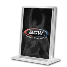 BCW Top Loading Vertical Deluxe Acrylic Trading Card Stand holder display