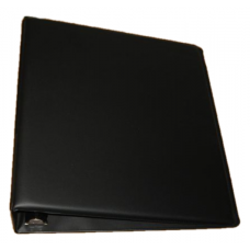 BCW 2 Inch Black Plain / Blank D-Ring Album binder