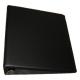 BCW 2 Inch Black Plain / Blank D-Ring Album binder