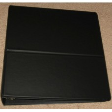 BCW 2 Inch Black Break Back D Ring Binder Album with Built In Stand