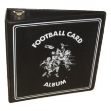 BCW 3 Inch Black Football Card D-Ring Album binder