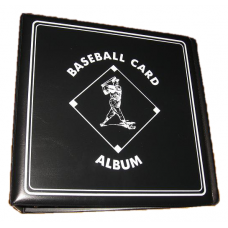 BCW 3 Inch Black Baseball Card D-Ring Album binder